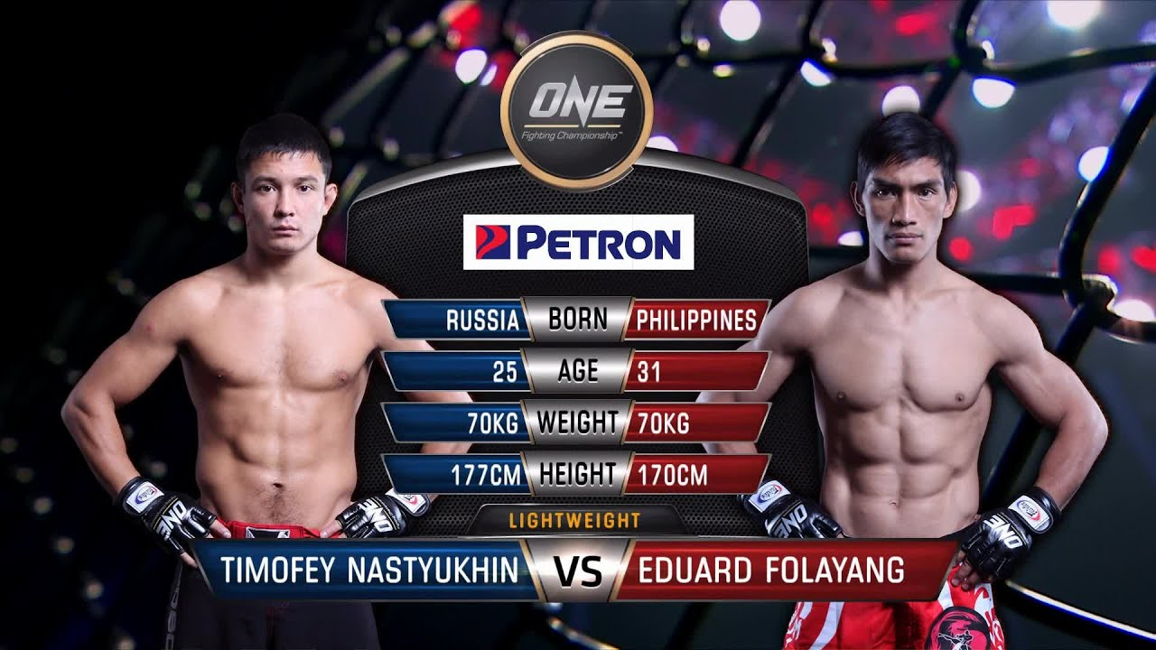 Timofey Nastyukhin vs. Eduard Folayang | Full Fight Replay