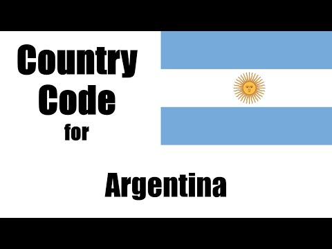 Argentina Dialing Code - Argentine Country Code - Telephone Area Codes in Argentina