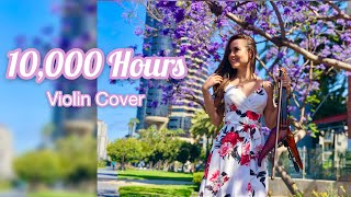 10,000 Hours by Dan + Shay & Justin Bieber - Electric Violin Cover | Amy Serrano
