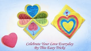 Paper Love Gift Card|How to Make Explosion Box |Explosion Box Tutorial|Life Hacks Love Gift Card