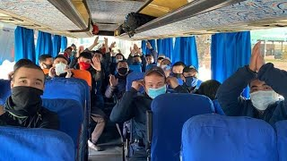 2456 жителей Кыргызстана вернулись домой из России Коронавирус в СНГ