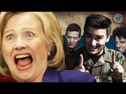 Russians Think Hacking Hillary Clinton is the Funniest Thing EVER! (PARODY)
