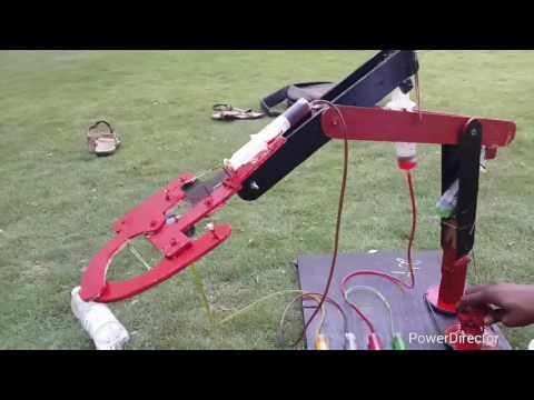 hydraulic arm project