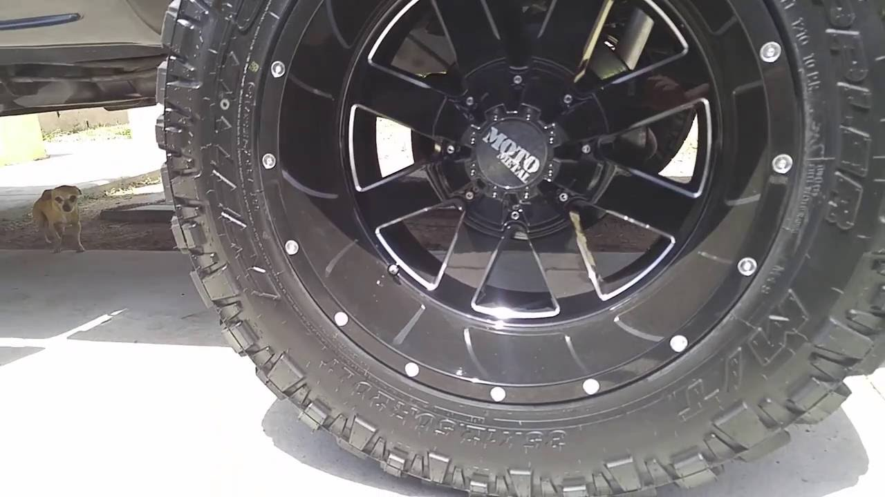 35 12 5 R17 >> 35 Inch Tires On Silverado Youtube
