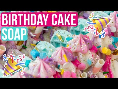 Things I've Learned In 25 Years + Birthday Cake Soap Making | Royalty Soaps thumbnail