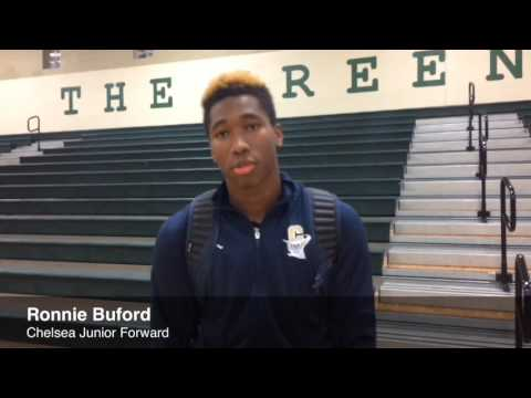 Chelsea's Ronnie Buford on win over Gabriel Richard