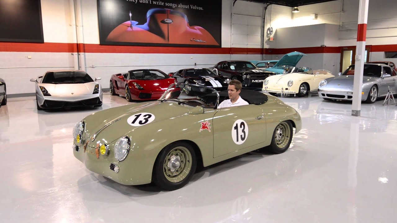 356 Porsche For Sale >> 1957 VIntage Speedster Outlaw - YouTube
