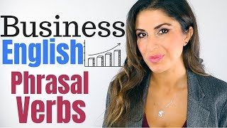 Business English Phrasal Verbs with Examples   Lingoda Busin...