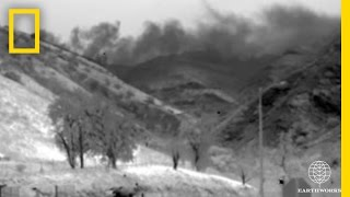 Watch: Massive Gas Leak in California Revealed in Infrared Footage   National Geographic