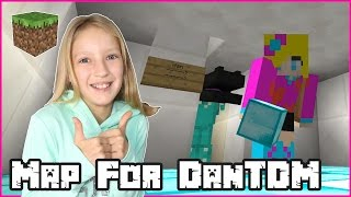 Building a map for DanTDM / Minecraft