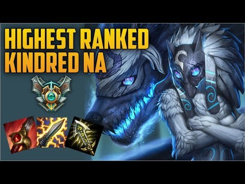 Best New Kindred Build HIGHEST RANKED KINDRED NA MAIN BUILD GUIDE Sir Celery Masters NA