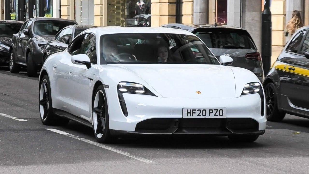 Brand New 2020 Porsche Taycan Driving in London!
