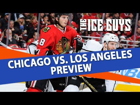 Chicago Blackhawks vs Los Angeles Kings | Ice Guys NHL Picks