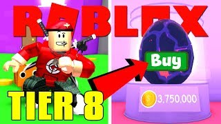 TIER 8 EGG BUYING and more ... | Roblox Pet Simulator #3