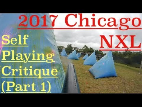 2017 Chicago NXL Practice Playing Critique Part 1 | How To Play Paintball
