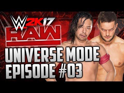 """WWE 2k17 Universe Mode: #03 """"Champion vs Champion"""" (""""WWE 2K17 UNIVERSE MODE"""" PS4/XBOX ONE)"""