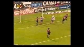 2000/01.- Atlético Madrid 1 Vs SD Eibar 1 ( Liga - Jª 13)