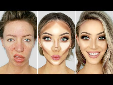 Thumbnail: 0-100 GLOW UP MAKEUP TRANSFORMATION!