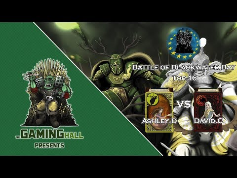 A Game of Thrones LCG - Battle of Blackwater Bay 2017 - Top 16 - Baratheon/Kraken vs Targaryen/Rose