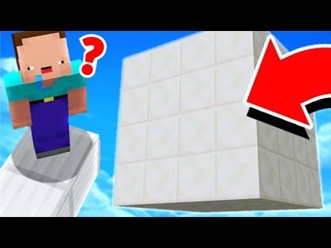 IL FAUT SORTIR DE CE CUBE.. ?! C'EST IMPOSSIBLE ! Minecraft !