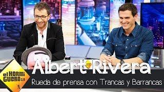 Albert Rivera supera la 'rueda de prensa ibérica' de Trancas y Barrancas - El Hormiguero 3.0