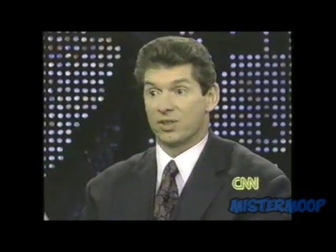 Vince McMahon and Bruno Sammartino on Larry King Live 1992