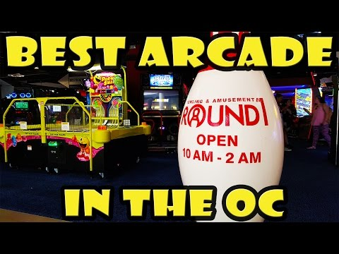Best Arcade in Orange County CA - Round 1