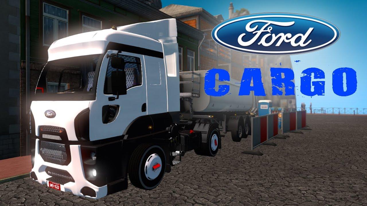 Ford Cargo İle Hafriyat Ve Dar Yollar #ets2