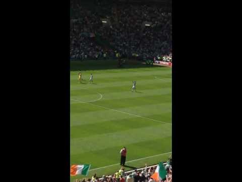 Emilio Izaguirre emotional farewell to Celtic fans