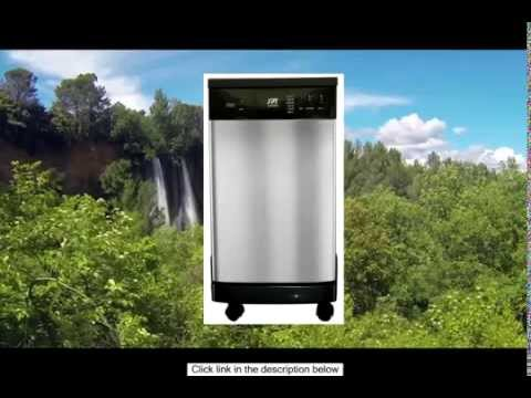 SPT 18 Inch Portable Dishwasher Stainless Steel