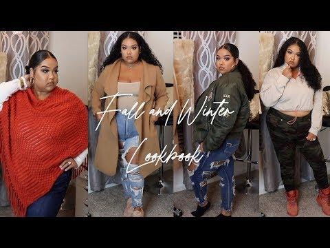 Fall and Winter Look Book | Plus Size Curvy Girl Try On Haul | prettylittlething fashion nova boohoo. Http://Bit.Ly/2KBtGmj