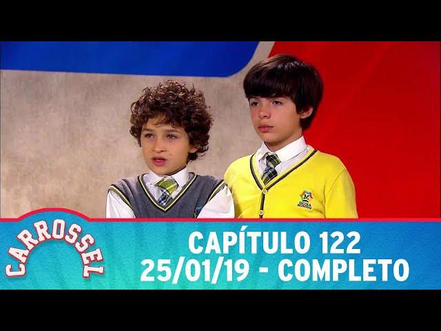 Carrossel | Capítulo 122 - 25/01/19, completo