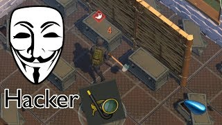 Raiding a HACKER in Last Day on Earth Survival 1.7.9 (Found a Gas Tank)