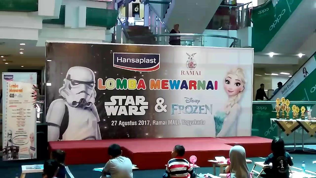 Lomba Mewarnai Bersama Hansaplast Starwars & Frozen