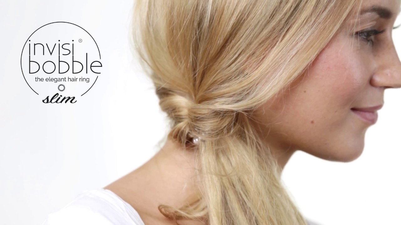 How to invisibobble® SLIM – the slightly different ponytail - YouTube 4c63c90ade0