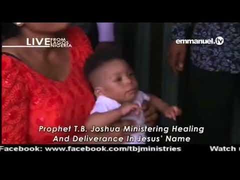 EMMANUEL TV LIVE SERVICE SUNDAY 15 04 2018 PROPHET TB JOSHUA AT THE