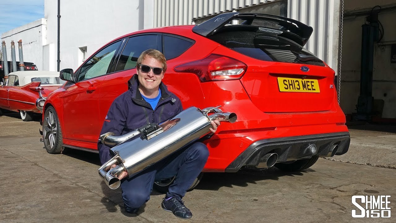 My Focus Rs Has An Xforce Varex Exhaust Project Part 6 Youtube
