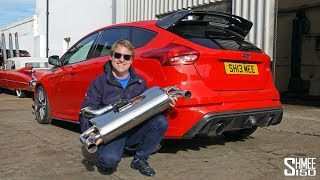 My Focus RS has an XForce Varex Exhaust! | PROJECT PART 6