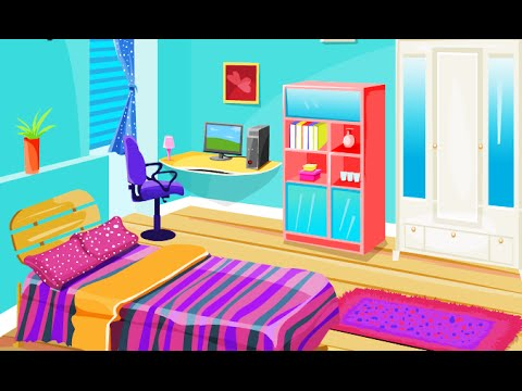 Colorful Room Decoration Fun Online Decoration Design Games For Girls Kids