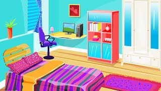 Colorful Room Decoration- Free Online Decoration Design Games- Girl Games