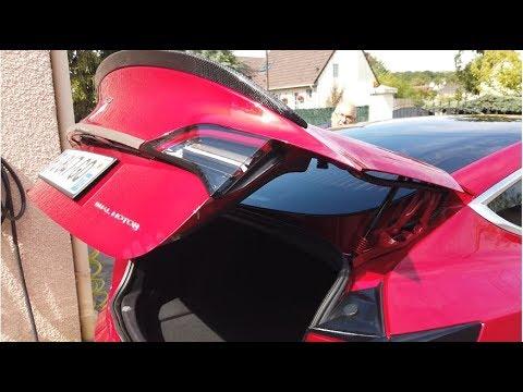 Tutoriel de montage du coffre automatique sur Tesla model 3 par Éléctron libre