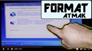 Format atma. Windows 10 [8- win7] bios giriş ve temiz kurulum [how to install windows 10] Video