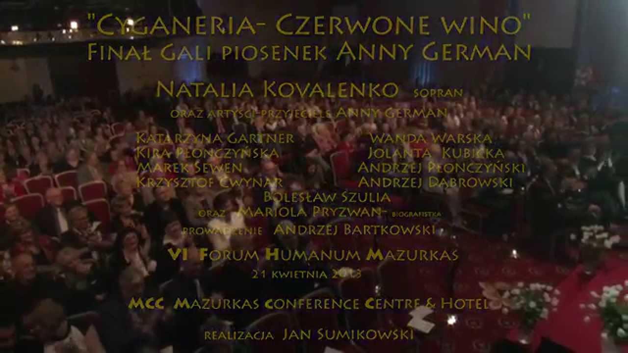 Natalia Kovalenko Cyganeria- Czerwone wino i tort z Planety Anny German na VI FHM