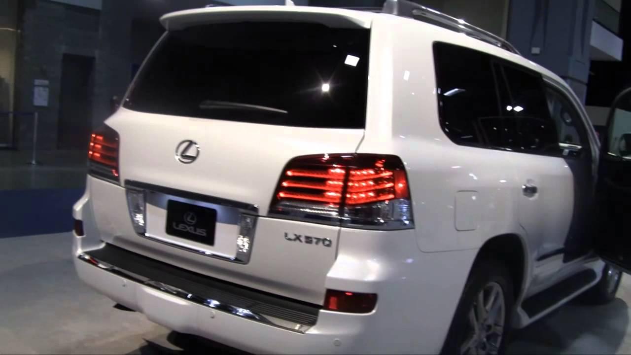 2015 Lexus Lx 570 In 2014 Washington Dc Auto Show 2014 Hd