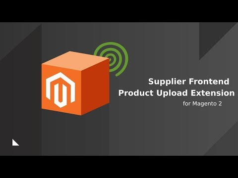 Supplier Products and Inventory Management Extension for Magento 2
