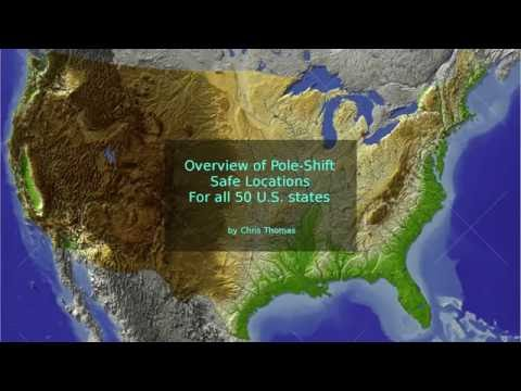 U.S. of A. safe locations overview - All 50 States.