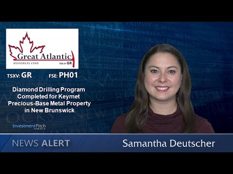 Diamond drilling program at Keymet Precious-Base Metal Property Complete