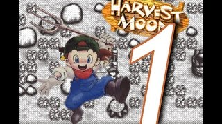 Gambar cover Harvest Moon (SNES) - Playthrough Ep.1 - Welcome To The Farm