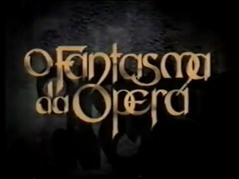 Chamada O Fantasma da Opera 1991 - Rede Manchete