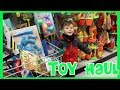 Toy Haul : Toy Hunt at Dollar Tree Store Bubbles Summer Toys Games Spider Man Frozen Color Chalk